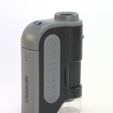 Pocket Microscope with a Powerful 60x-120x Magnification Range